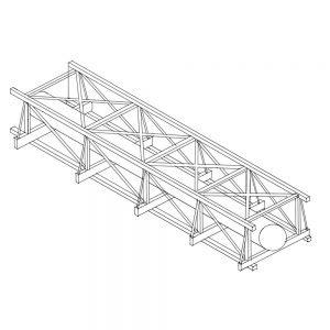 Pipe bridge sketch
