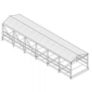 Skyway bridge sketch