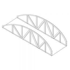 Truss bridge sketch